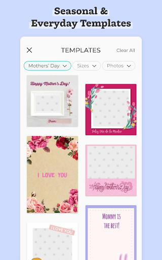 PicCollage - Grid, Greeting & Photo Collage Maker  Screenshots 4