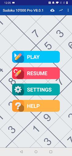 Sudoku 10'000 Pro apkslow screenshots 1