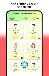 Free Friends For Snapchat – AddUp Apk Download 2021 2