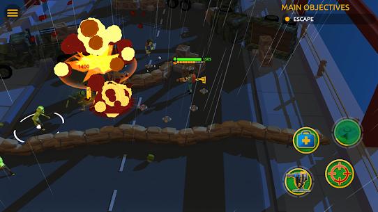 Zombie Blast Crew Mod Apk (UNLIMITED DIAMONDS/GOLD) 4