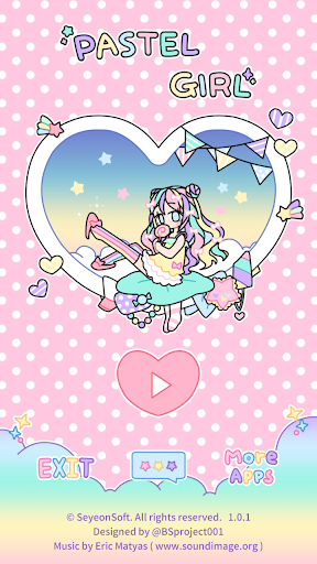 Pastel Girl : Dress Up Game 2.5.3 Screenshots 1
