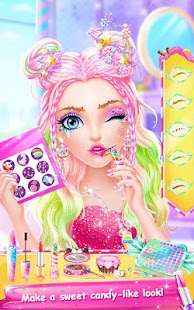 Candy Makeup Party Salon Screenshot
