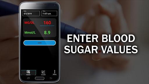 Blood Sugar Test Checker : Glucose Convert Tracker  Screenshots 1