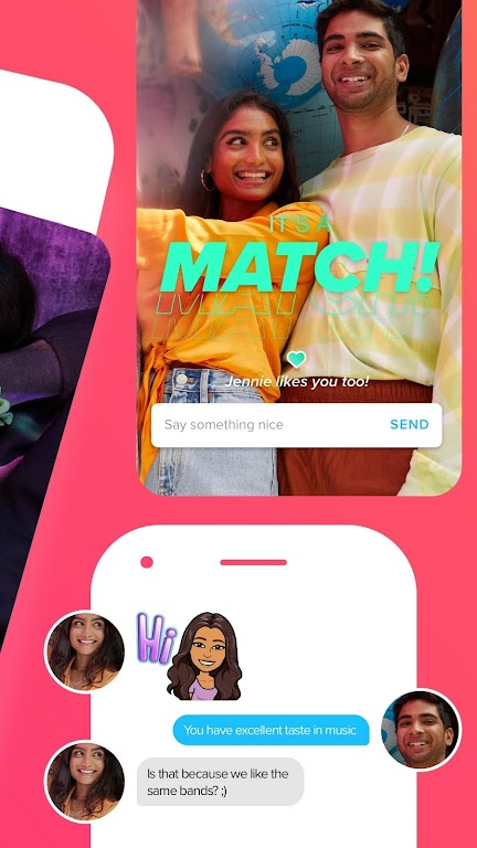 Tinder - Dating, Make Friends and Meet New People poster 1