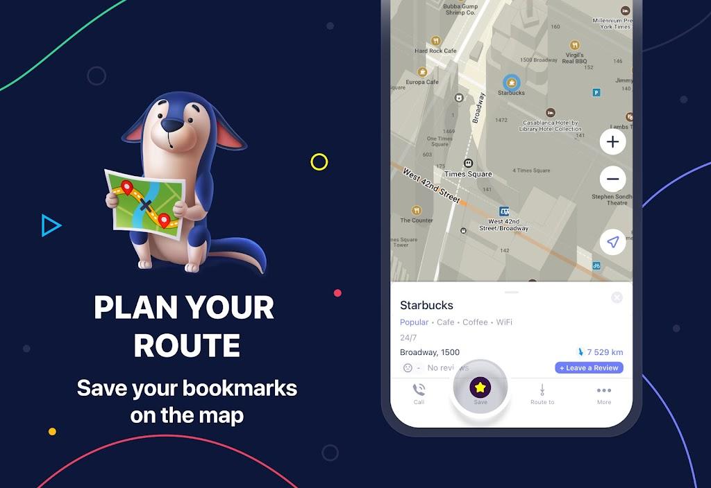 MAPS.ME – Offline maps, travel guides & navigation  poster 3