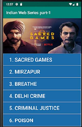 Indian Web Series part-1 screenshot 1