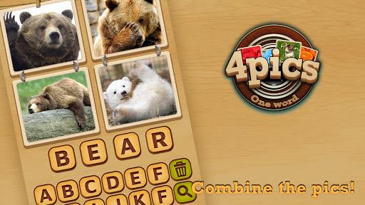 4 Pics Puzzle: Guess 1 Word  screenshots 2