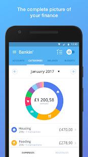 Bankin' - The money and banking app manager Apkfinish screenshots 1