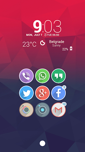 Velur - Icon Pack  screenshots 17