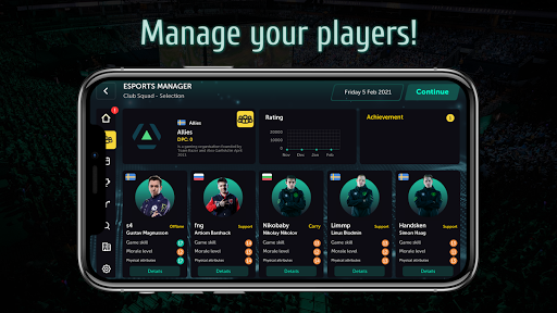 Esports Manager Simulator apk 1.0.58 screenshots 1