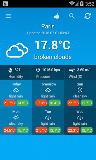 Weather France 1.0.1 Screenshots 1