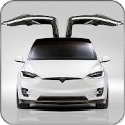 Electric Car Simulator 2021: City Driving Model X