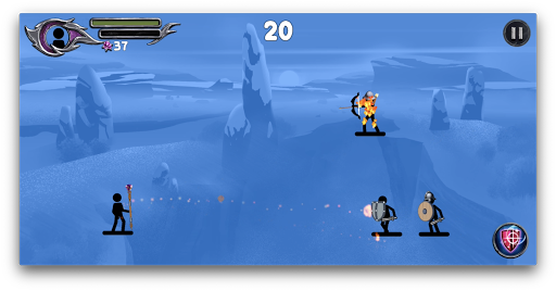 The Wizard: Stickman War 1.1.8 screenshots 10