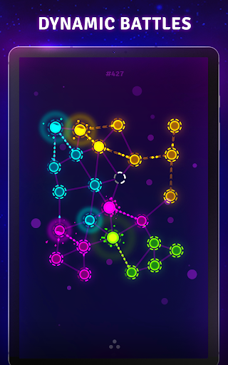Splash Wars - glow space strategy game apkpoly screenshots 15