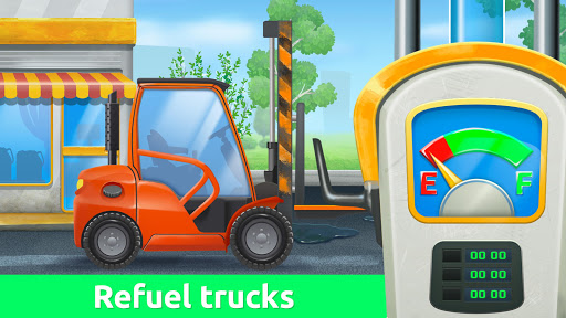 Build a House with Building Trucks! Games for Kids  screenshots 3