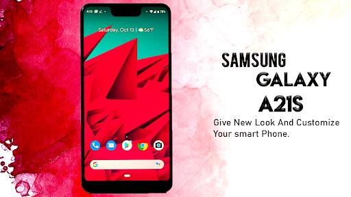 Samsung Galaxy A21s Launcher: Themes & Wallpapers screenshots 6