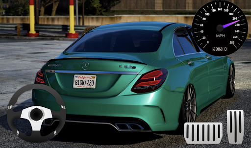 Parking Mercedes C63 AMG City Drive 11.1 screenshots 2