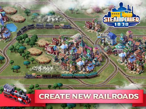 SteamPower 1830 Railroad Tycoon apkslow screenshots 15