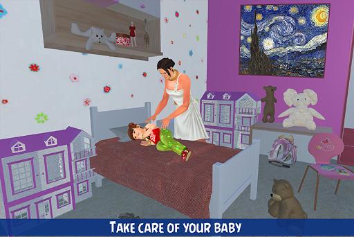 blessed virtual mom: mother simulator family life  screenshots 2