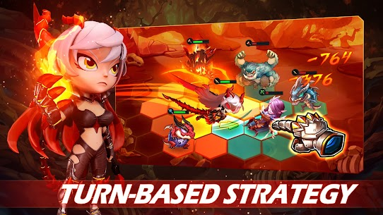 Runelords Arena: Tactical Hero Combat IDLE RPG Apk Mod + OBB/Data for Android. 1