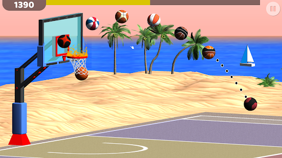 Basketball: Shooting Hoops Screenshot
