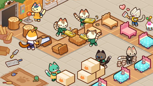 Kitty Cat Tycoon : make cat tree screenshots 4