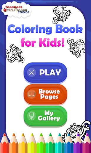 Coloring Book for Kids screenshots 1
