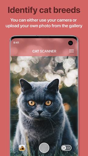 Cat Scanner u2013 Cat Breed Identification 9.1.6-G screenshots 1