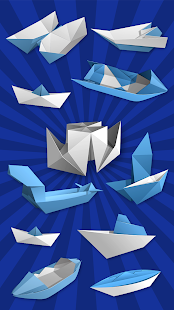 Origami Boats: How to Make Paper Ships