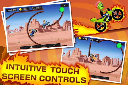 Top Bike - best physics bike stunt racing game filehippodl screenshot 2