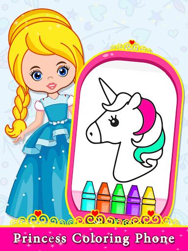 Little Princess Baby Phone - Princess Toy Phone  screenshots 9