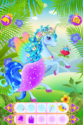 Unicorn Dress Up - Girls Games apkslow screenshots 2