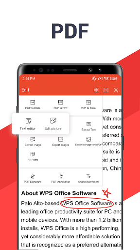 WPS Office - Free Office Suite for Word,PDF,Excel screen 2