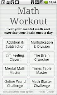 Math Workout Apk Download 1