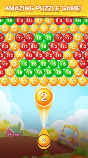 Bubble Shooter 2048 Ball: Shoot & Merge Puzzle apktreat screenshots 1