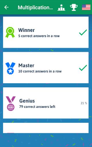 Multiplication Tables - Free Math Game 1.86 Screenshots 6