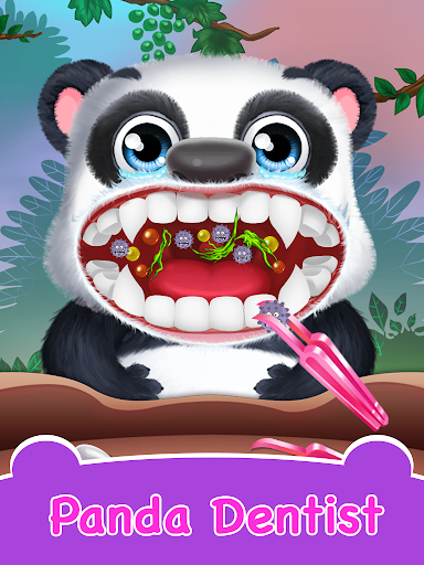 Panda Daycare - Pet Salon & Doctor Game  screenshots 8