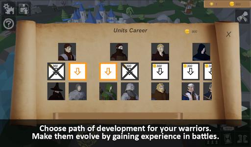 Warriors of medieval walls Tactical turn-based RPG apkdebit screenshots 4