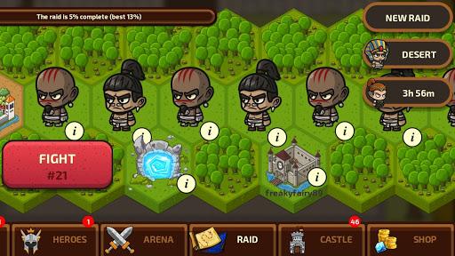 Raid Heroes: Sword And Magic 2.0.0 screenshots 3