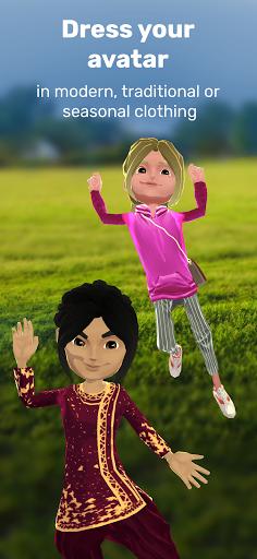 Krikey: Create 3D Avatar + Play AR Games! android2mod screenshots 3