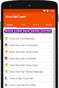 How to Make Your Hair Grow Faster 10.2 Mod + Data (APK) Full 2