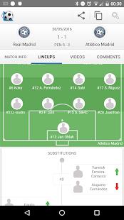 Football Live Scores 1900.0 Screenshots 8
