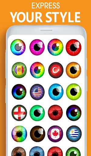 Eye, Hair Color Changer: Eye Colour Photo Editor 10.4 Screenshots 14