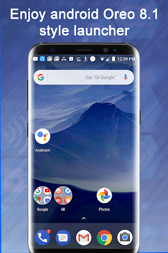 Launcher Oreo 8.1 1.9 Screenshots 1