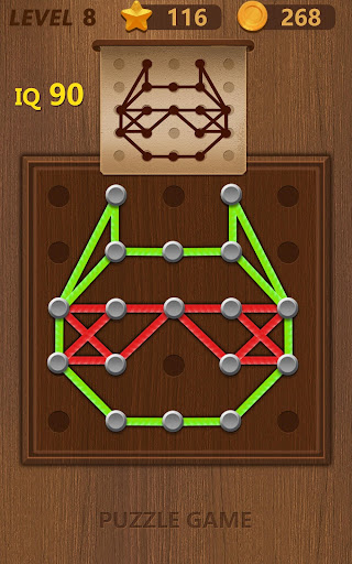 Line puzzle-Logical Practice 2.2 screenshots 10