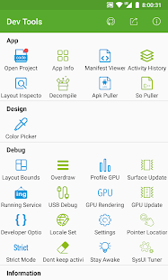 Dev Tools(Android Developer Tools) - Device Info