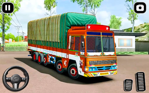 Indian Cargo Truck Transporter City Driver 3D Game androidhappy screenshots 1