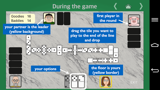 partnership dominoes screenshot 2