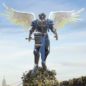 Crime Angel Superhero  Vegas Air Strike