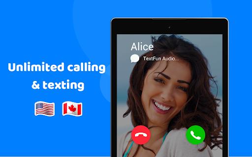 TextFun : Free Texting & Calling 2.2.1 Screenshots 8